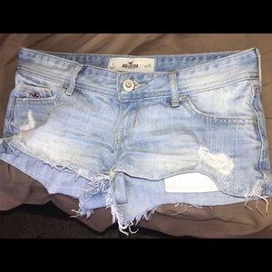 Hollister Sz 1 Denim Shorts